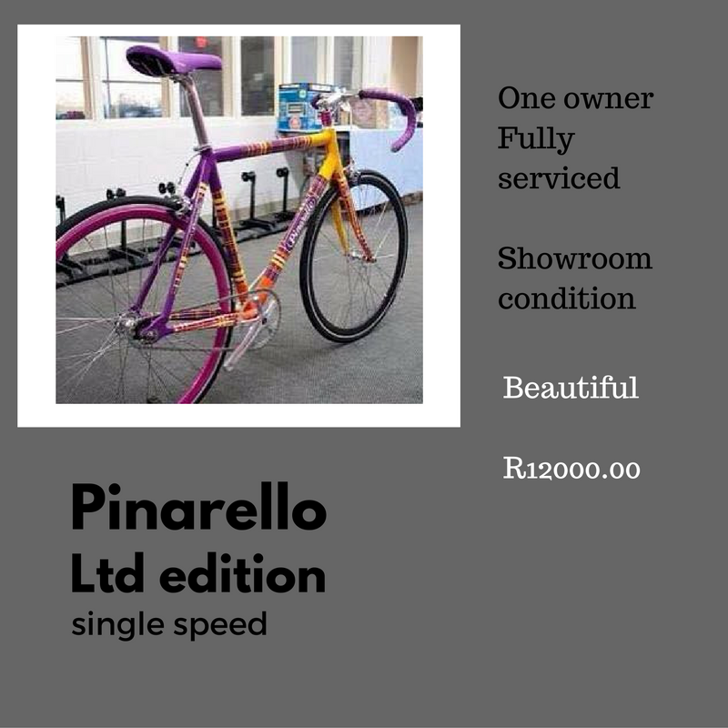 pre-owned pinerello single speed