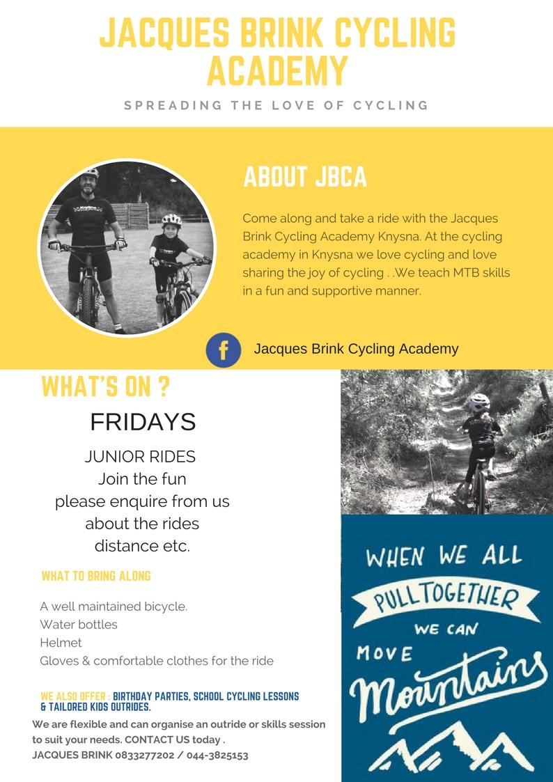 Jb Cycling Academy Knysna Cycle Works
