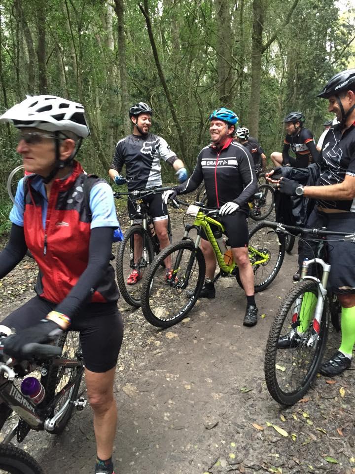 fun on MTB trails