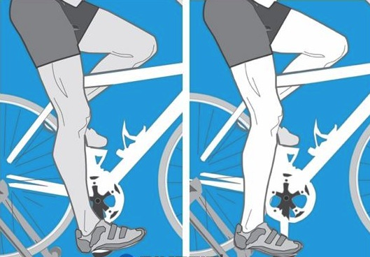Knee pains while cycling ?