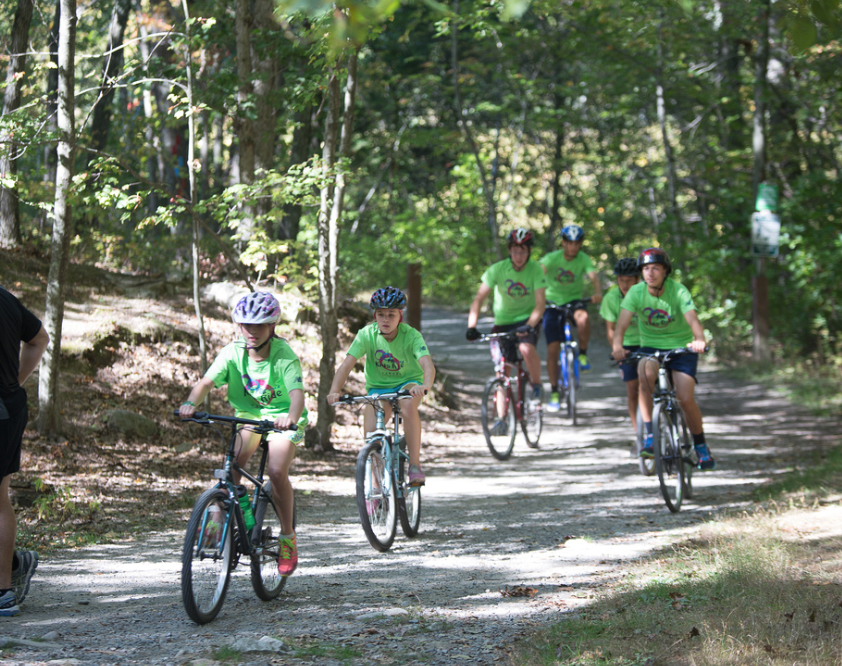 Calling Young Mountain Bikers