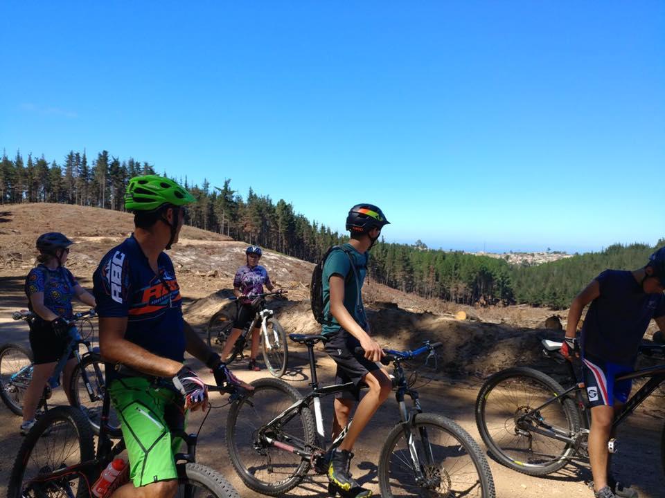 riding MTB trails in Knysna