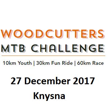 WOODCUTTERS MTB CHALLENGE 27 DEC 2017