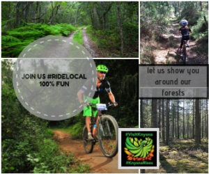 RIDE LOCAL cycle with us#100%fun